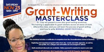 Grant-Writing Masterclass