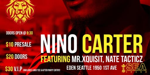 Nino Carter live in Concert
