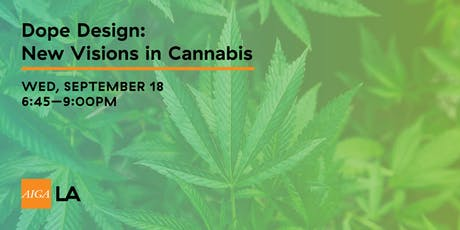 Dope Design: New Visions in Cannabis tickets