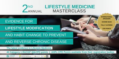 2nd Annual Lifestyle Medicine Masterclass