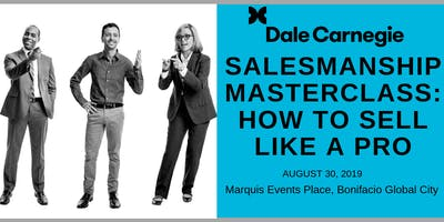 Salesmanship Masterclass:  How to Sell Like a Pro