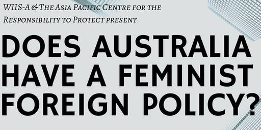 Does Australia have a Feminist Foreign Policy?