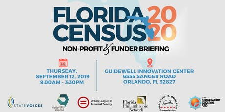 Florida 2020 Census: Non-Profit & Funder Briefing tickets