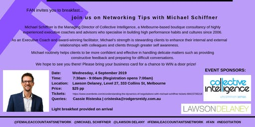 Networking Tips with Michael Schiffner