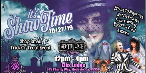 It's Showtime! BeetleJuice Trick or Treat Shop Small Event