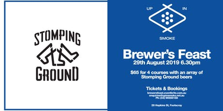 Up In Smoke Presents: Brewer's Feast #3 Ft. Stomping Ground tickets