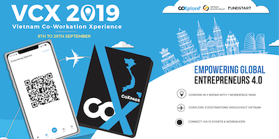 Vietnam Coworkation Xperience VCX 2019