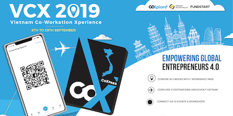 Vietnam Coworkation Xperience VCX 2019 tickets