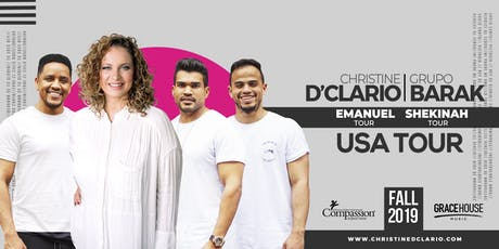 RichmondVA -Christine D'Clario / Barak - Emanuel / Shekinah USA Tour 2019 tickets