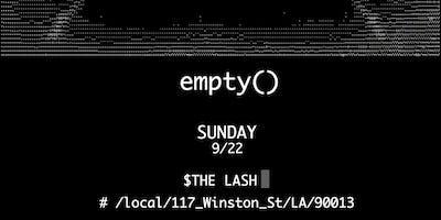 empty()