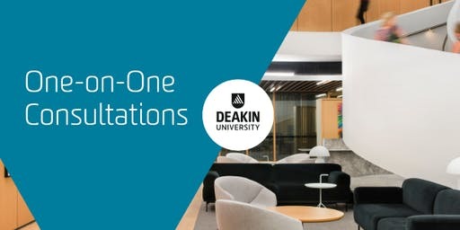 Deakin Downtown Melbourne (CBD) One-on-One Consultations, Deakin University