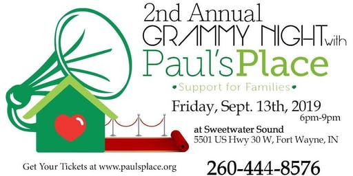 2nd Annual Grammy Night with Paul's Place!