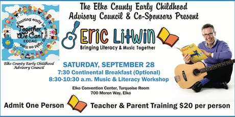 Eric Litwin Teacher and Parent Training tickets