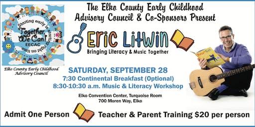 Eric Litwin Teacher and Parent Training