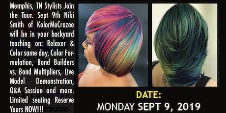 """KolorMeCrazee """"Color Defense Class"""" Tour Memphis TN tickets"""