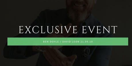 International Investors and Speakers, David Leon & Ben Doyle  tickets