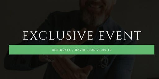 International Investors and Speakers, David Leon & Ben Doyle