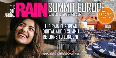 RAIN Summit Europe 2019 tickets