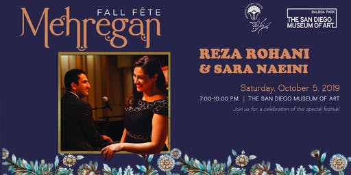 Mehregan Fall Fete with Reza Rohani & Sara Naeini