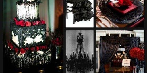 Gothic Elegence Styled Wedding Shoot