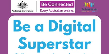 Be Connected - Digital Presentation at Ulladulla Library tickets