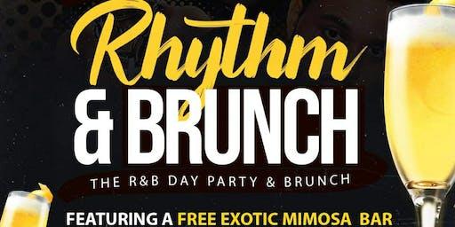 """""""RHYTHM & BRUNCH"""" R&B Day Party & Brunch"""