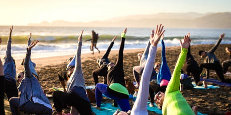 Sunday Zen Beach Yoga with Kirin Power! tickets