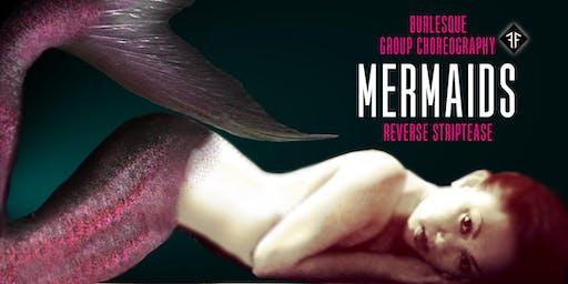 """Burlesque Dance Workshop: """"Mermaids"""" Reverse Strip Crash Course (2Parts) - Fishnet Follies"""