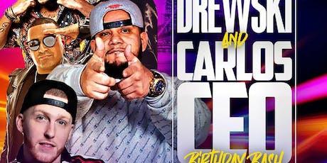 DJ Drewski Birthday Bash DJ Camilo Live At The Lobby tickets