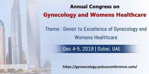Annual Congress on Gynaecology and Women's Healthcare""