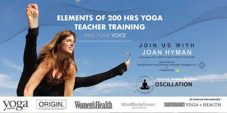 Elements 200 HRS Yoga Teacher Training  - Find Your Voice tickets