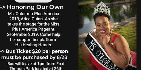 Ms. Colorado Plus America Celebratory Send Off tickets