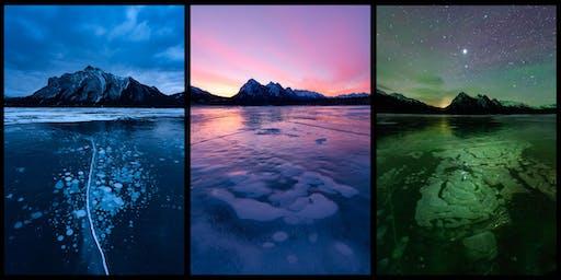 Abraham Lake Bubbles Photography Workshop