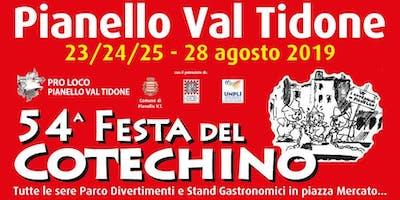 54^ Festa del Cotehino & Grande Fiera d'Agosto a Pianello Val Tidone
