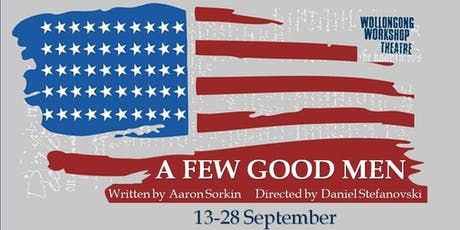A Few Good Men - Fri 20th Sept tickets