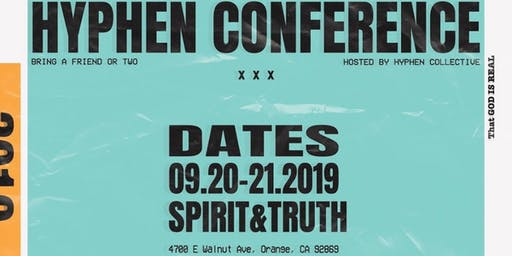 SoCal Hyphen Conference 2019