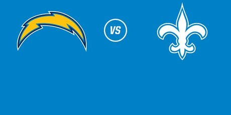 Chargers vs Saints Tickets tickets