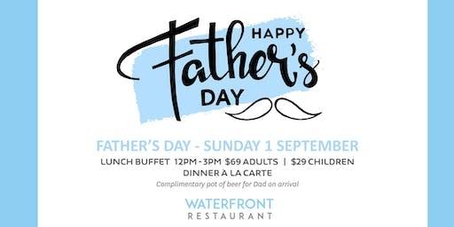 Father's Day - Sunday 1 September 2019