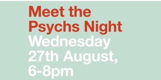 Meet the Psychs Night