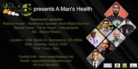 Vegan Lady Soul presents A Man's Health tickets