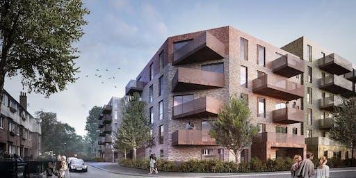 Hylands Road housing scheme drop-in public engagement event 210819