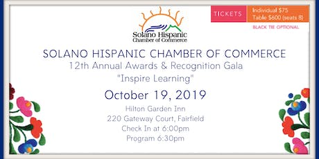 SHCC 12th Annual Awards & Recognition Gala tickets