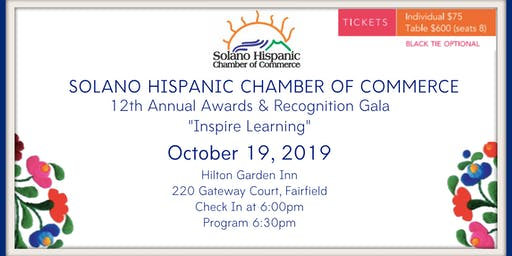 SHCC 12th Annual Awards & Recognition Gala