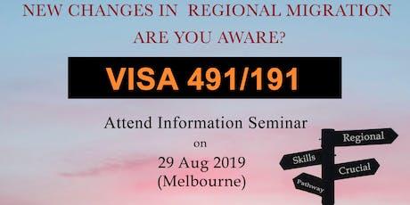 Visa 491/191 Information Session tickets