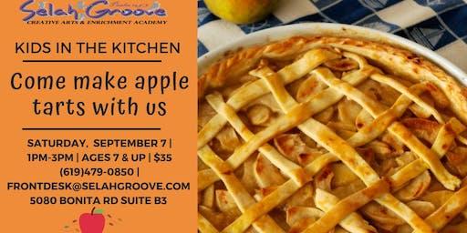 Kids in the Kitchen: Apple Tarts