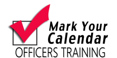 OFFICERS TRAINING tickets