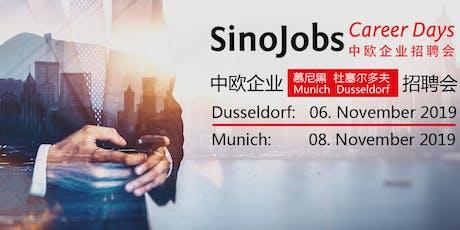 SinoJobs Career Days Tickets