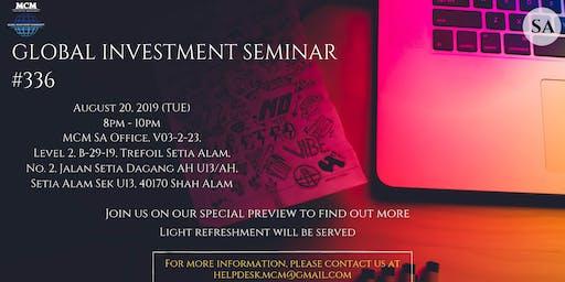 Global Investment Seminar #336
