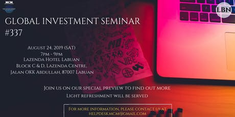Global Investment Seminar #337 tickets