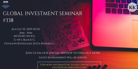 Global Investment Seminar #338 tickets